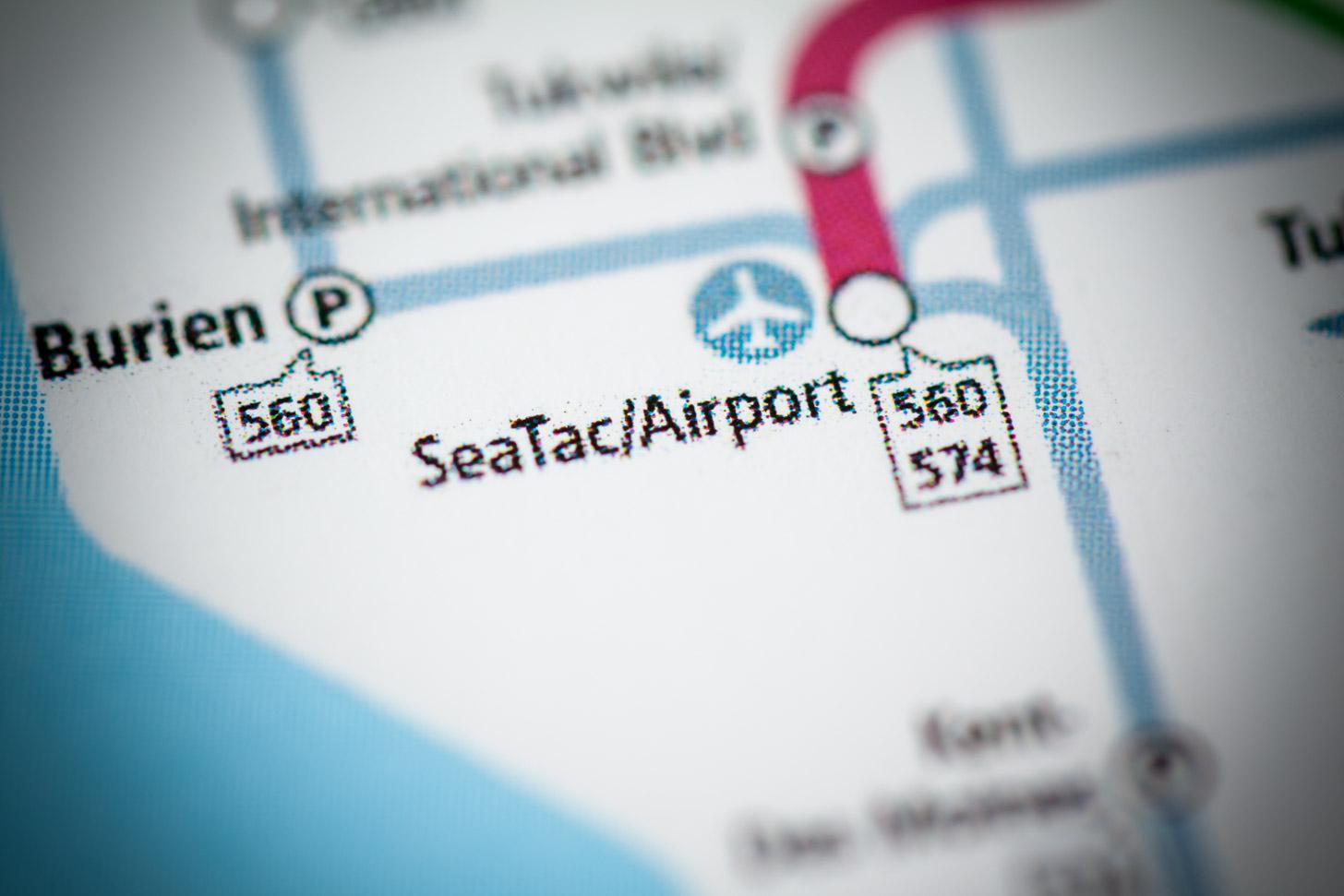 Transport vanaf de luchthaven naar Seattle